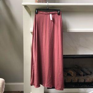 Anthropolgie long skirt